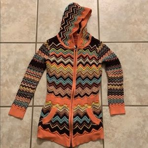 3/$20 ✨ Missoni by Target Zippered sweater hoodie